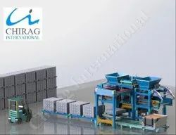 Chirag Superior Technology Automatic Fly Ash Brick Plant