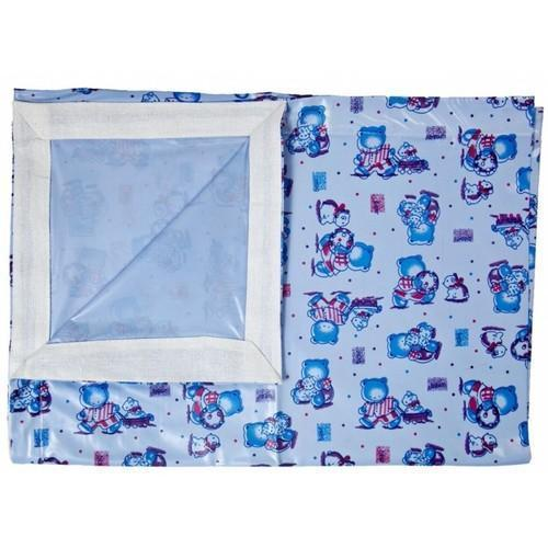 Multicolor PVC New Born Baby Bed Sheet