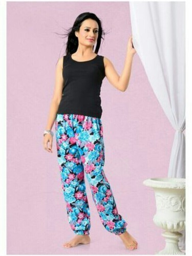 Multicolor Regular Wear Printed Ladies Lower c20384b4e