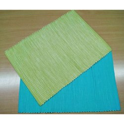 Cotton Ribbed Woven Placemat