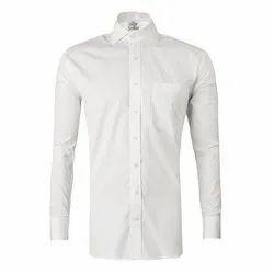 Cotton Long Sleeve Mens Plain Shirt, Size: M-xxl