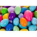 Colored Plastic Easter Eggs