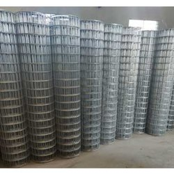 50 Gauge Hot Rolled GI Welded Wire Mesh, For Defence, Packaging Type: Roll