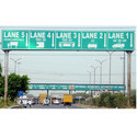 Toll Plaza Sign