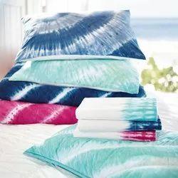 Cotton Blue Shibori Tie & Dyed Home Textile Fabric By AWRIN, 150-200
