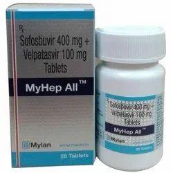 MyHep All Sofosbuvir And Velpatasvir Tablets