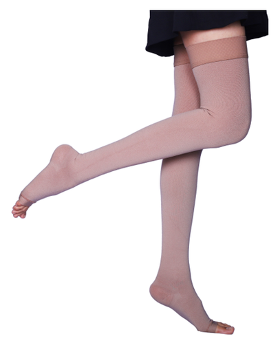 6897d2a9369 Sorgen Microfiber CLASS II Thigth Length Compression Stockings For ...