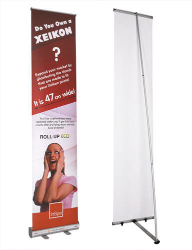L BANNER STANDEE