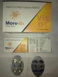 Saillon Pharma Vitamin D3 Soft Gelatin Capsules, Packaging Type: Bottle, Saillon Pharma