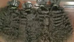 Natrul Curly Machine Weft Hair