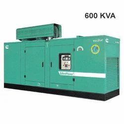 600 kVA Cummins Silent Generator