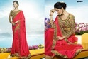 Barfi Silk Heavy Embroidered Wedding Wear Saree