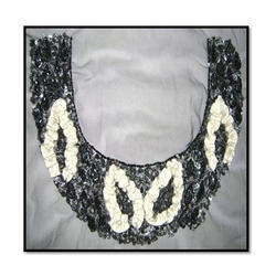 Fashionable Beaded Necklines