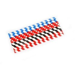 Striped Paper Straw