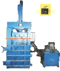 Vertical Single Box Hydraulic Baling Press
