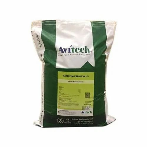 Avitech Layer Trace Mineral Premix, Packaging Type: Plastic