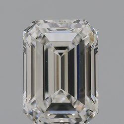 Emerald Cut CVD Diamond 2.04ct H VVS2 IGI Certified