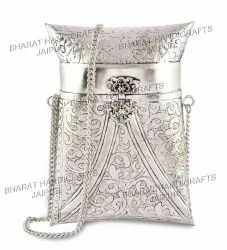 Metal Rectangle Purse