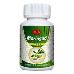 Moringad Capsules, A & D Pharma, Packaging Size: Bottle