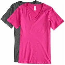 V Neck T Shirts - Garment Stitching Service