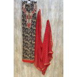 Ladies Designer Cotton Suit