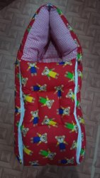Multicolor Cotton Little Cubs Baby Sleeping Bags, Newly Born