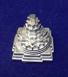 Kesar Zems Parad Mercury Shree Yantra 115g for Worship, Gift, Home Decor