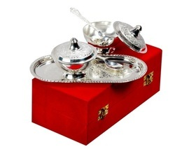 Silver Plated Mouth Freshener Bowl