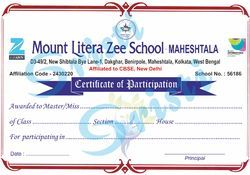Paper Multicolour Certificate Printing, Dimension / Size: A4, in Pan India