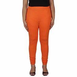 Jeet Ladies Orange Lyra Legging