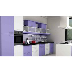Blue And White Furniture Pride Pride Kitchen Furniture Rs 65000