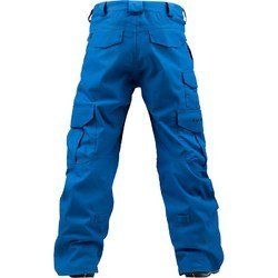 Blue Plain Men's Cargo Pant