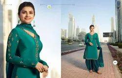 VINAY N/a Heavy Silk Patiyala Dress Material