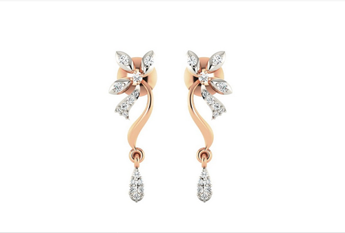 29259ce5e Ornaz Earrings Drops 100937, Rs 31325 /pair, Ornaz Jewellery Private ...