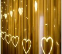 Rawsome Shack Decorative Heart Curtain LED Light