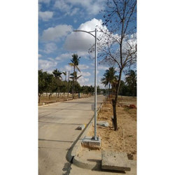 Galvanized Street Light Pole