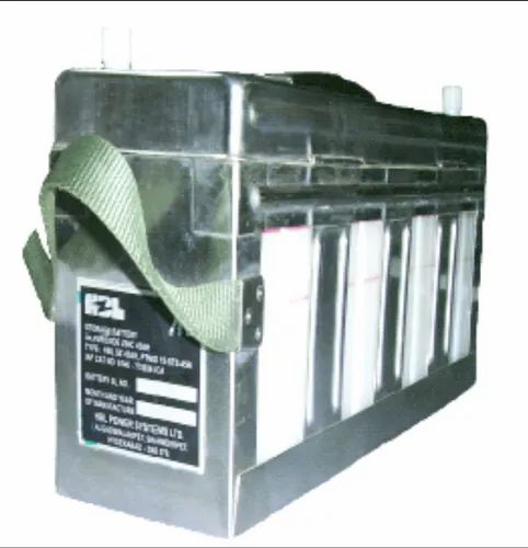 Silver Zinc Aircraft Battery