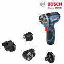 12 V Bosch Gsr 12v-15 Fc Professional Cordless Drill, Li-ion Battery