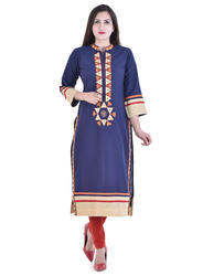 Casual Cotton Slub Kurti