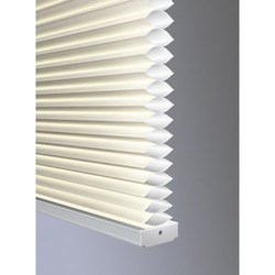White PVC Honeycomb Blinds