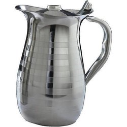 Amit Silver Stainless Steel Water Jug, for Restaurant, Capacity: 1.5 Liter