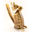 Innovative Exports Brown Wooden Squirrel Toy For Kids