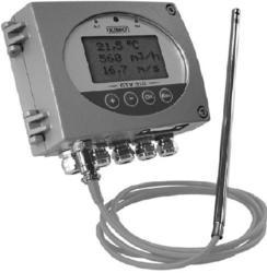Air Velocity / Air Flow Transmitter CTV 310