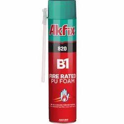 820 B1 Fire Rated PU Foam (Straw)