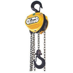 Indef MS make chain pulley block, Capacity: 2 ton