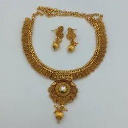 Karishma Kreations Copper Jewellery Set - 999