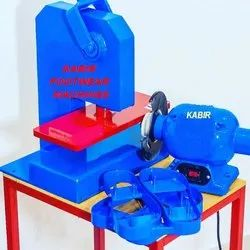 slipper strap fitting machine
