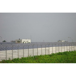 RCC Precast Wall of Solar Power Project