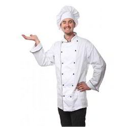 Chef Coat Executive Chef Wear Double Breasted Cook Coat