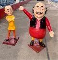 Cartoon Statues